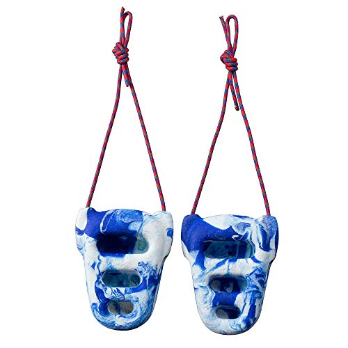Metolius Rock Rings 3D Blue / Blue Swirl One Size